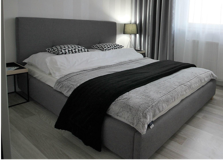 łóżko Tapicerowane Montana 140x200 Sypialnia