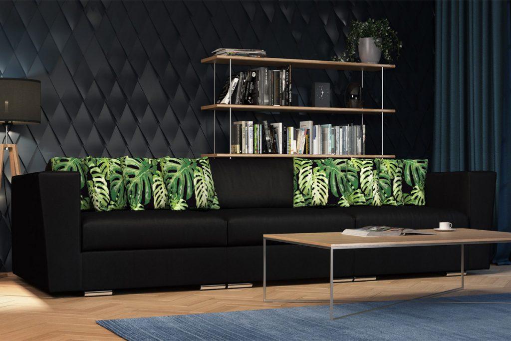 Stylowa sofa do salonu JUNGLE marki Allmeblo