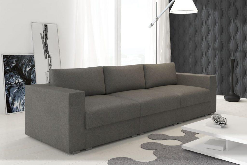 Nowoczesna, rozkładana sofa do salonu LIFE ST